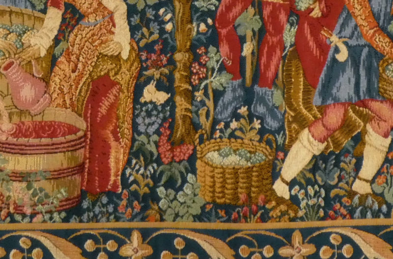 The Vintage tapestry detail