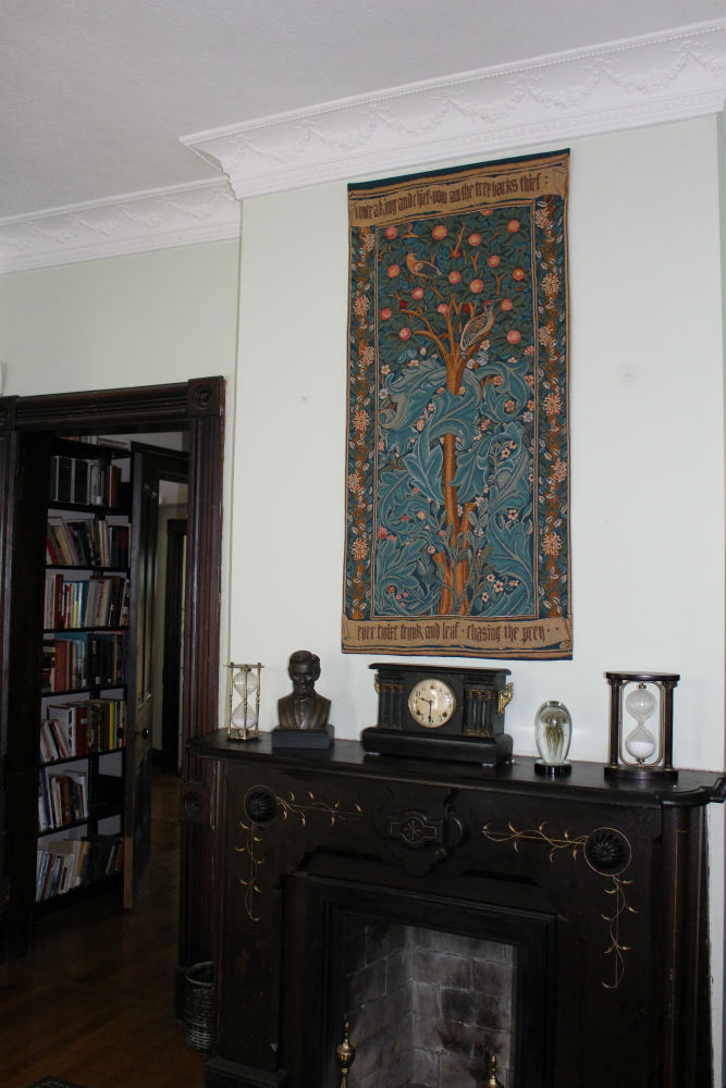 The Woodpecker Tapestry by William Morris