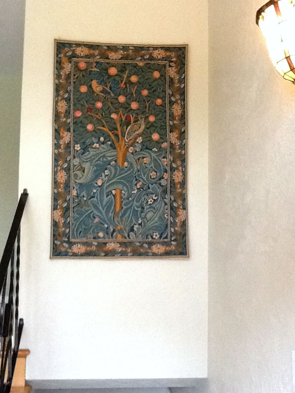 The Woodpecker Tapestry without the verse - William Morris