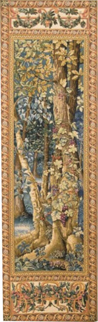 Timberland tapestry - Wawel tapestries - Belgian portiere