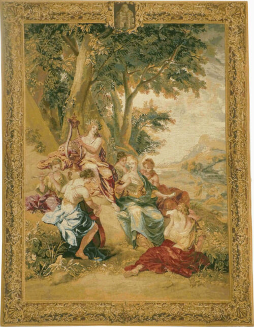 Triumph of Apollo tapestry - Bernard van Orley wall tapestries