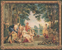 The Triumph of Flora - Francois Boucher tapestry wall hanging