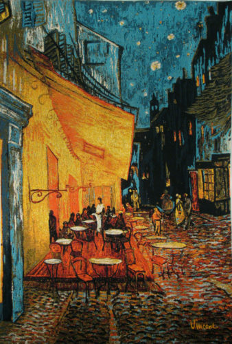 Van Gogh Cafe Terrace at Night - Vincent van Gogh tapestries