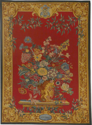 Vaux le Vicomte November tapestry - French wall-hanging