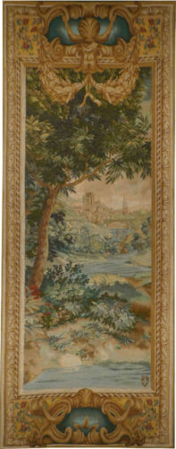 Verdure Cascade left tapestry - pair of wall tapestries