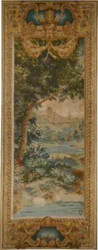 Verdure Cascade left tapestry - pair of wall tapestries