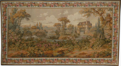Verdure Mill tapestry - Francois Boucher tapestries on sale