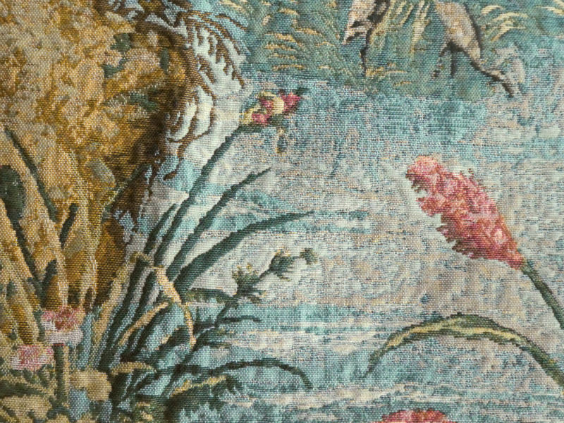 Wawel Castle tapestry closeup detail