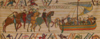 William Embarks - Bayeux Tapestry for sale - ship and horses