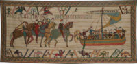 William Embarks - celtic border - The Bayeux Tapestry