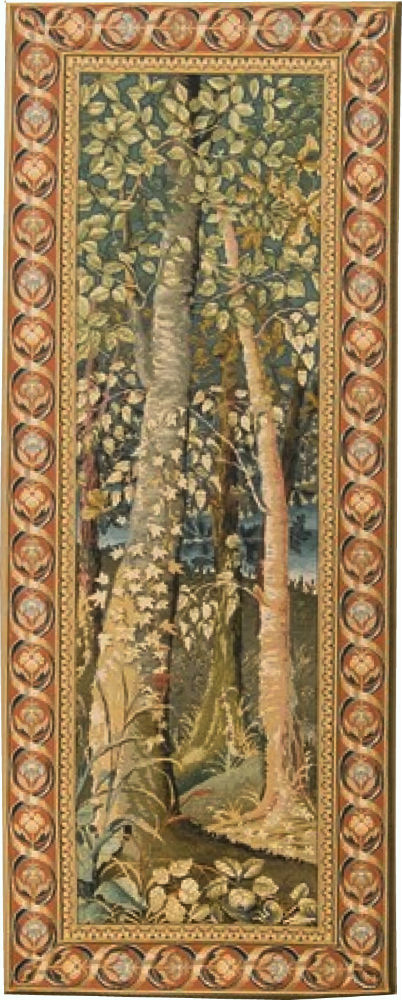 Wooden Hills tapestry - Jagaloon Tapestries Wawel Castle