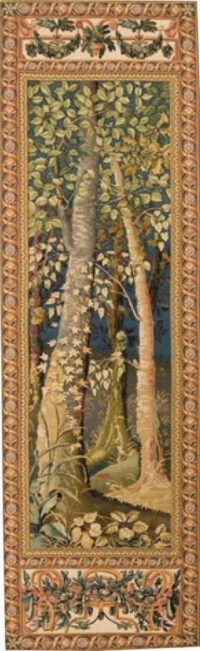 Woodland tapestry - Jagaloon tapestries - Wawel Castle