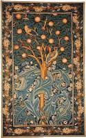 Woodpecker Tapestry - William Morris tapestries