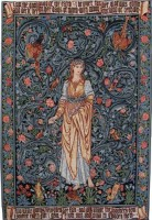 Flora wall tapestry - William Morris tapestries
