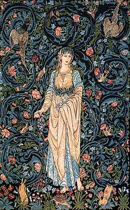 Flora tapestry - William Morris and Edward Burne-Jones