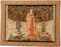 The Minstrel tapestry - Morris and Co designs