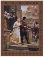 Call to Arms tapestry - Edmund Blair Leighton