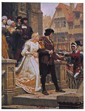 Call to Arms wall tapestry - Edmund Blair Leighton