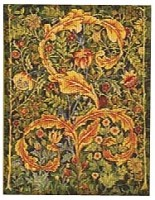 Morris Portiere tapestry - small, green