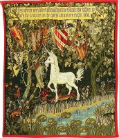 The Quest - Unicorn tapestry - Holy Grail tapestries