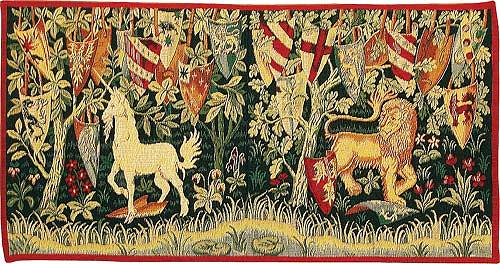 The Quest - small tapestry - Holy Grail tapestries