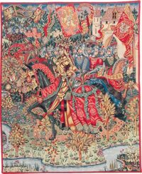 Le Roi Arthur tapestry - Camelot wall tapestries