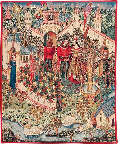 Guinevere tapestry - Camelot wall tapestries
