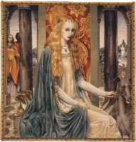 The Lady tapestry - Camelot tapestries