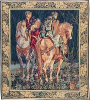 The Knights tapestry - French Camelot tapestries