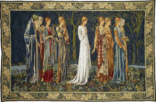 The Ceremony tapestry - Pre-Raphaelite tapestries