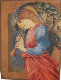An Angel tapestry - Burne-Jones tapestries