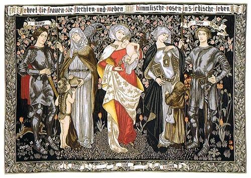 Honour the Women tapestry - Morris & Co tapestries