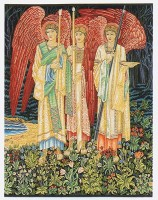 Vision of the Holy Grail - centre - Burne-Jones tapestry