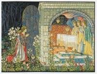 Vision of the Holy Grail - right - Edward Burne-Jones