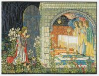 Vision of the Holy Grail - right - Edward Burne-Jones