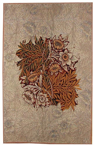 Willow wall tapestry - brown - William Morris designs