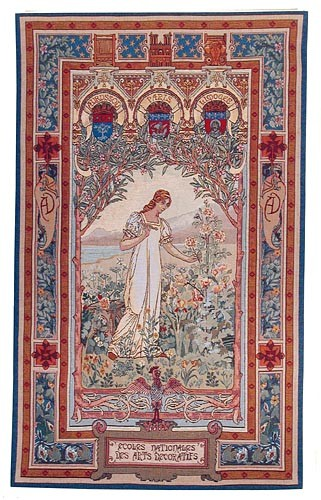 Aurora wall tapestry - Ecoles Nationales des Arts Decoratifs