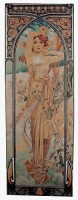 Alphonse Mucha Brightness of Day tapestry - Art Nouveau