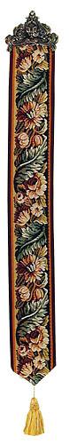Leaves and Flowers bellpull - French bellpulls
