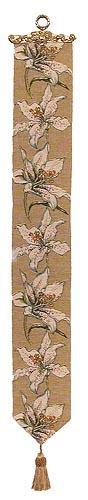 Lilies bellpull - French bellpulls