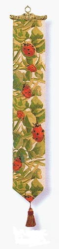 Ladybugs bellpull - French bellpulls