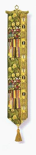 The Kiss bellpull - Gustav Klimt art
