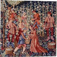 The Vintage - right tapestry - medieval wall tapestries