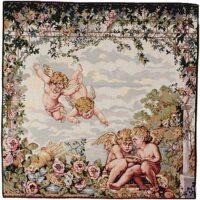 Gazebo Cherubs tapestry - Italian wall-hanging