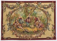 Country Gathering tapestry - Francois Boucher tapestries