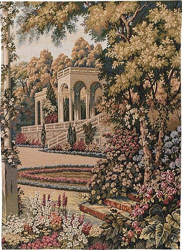 Temple in the Gardens tapestry special - Lake Como