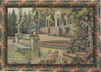 Gardens at Lake Como tapestry - Italian wall tapestries