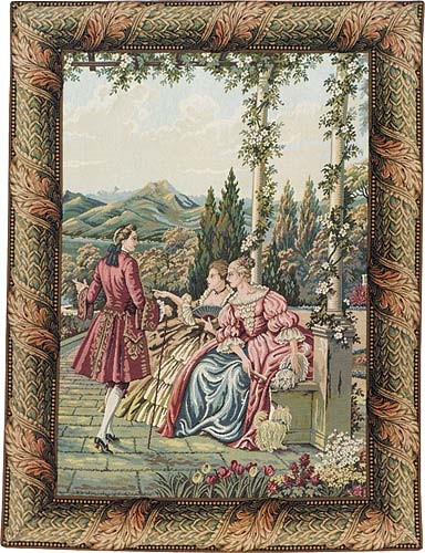 Terrace Elegance tapestry - Lake Como tapestries on sale
