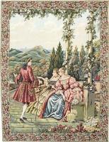Terrace Elegance tapestry - Lake Como tapestries