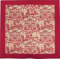 Toile du Jouy tablecloth - French tapestry weaver